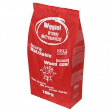 BBQ Gastro Träkol Kvalitetskol 100% EK 10 kg 10 KG (1 säck)