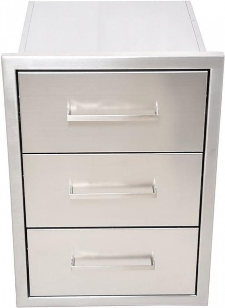 Stålbergs Utekök Modul med 3 lådor