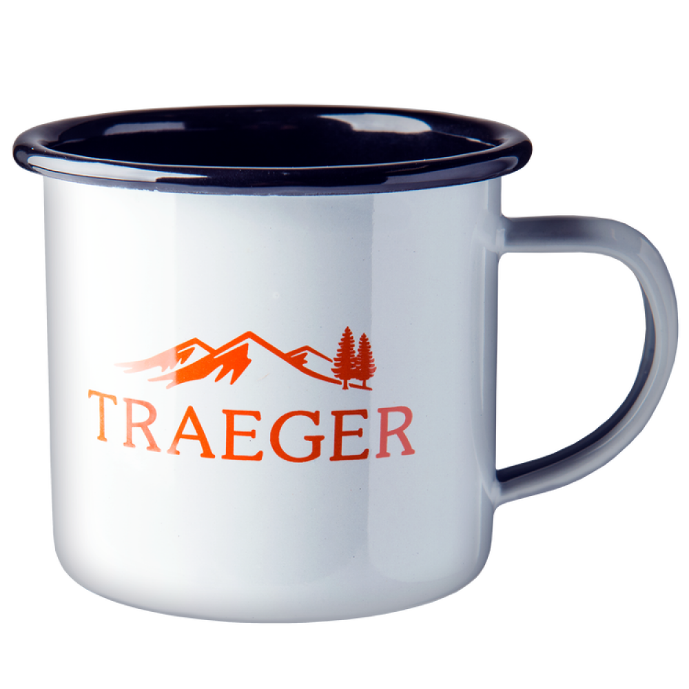 BACK YARD LIVING AS Traeger cam mug