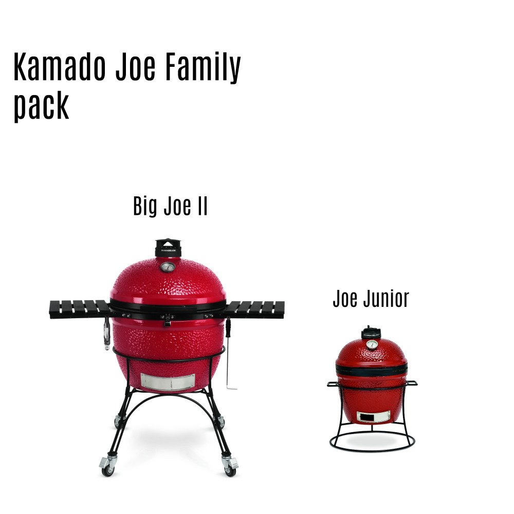 Kamado Joe Kamado Joe Family pack (Big Joe+Junior)