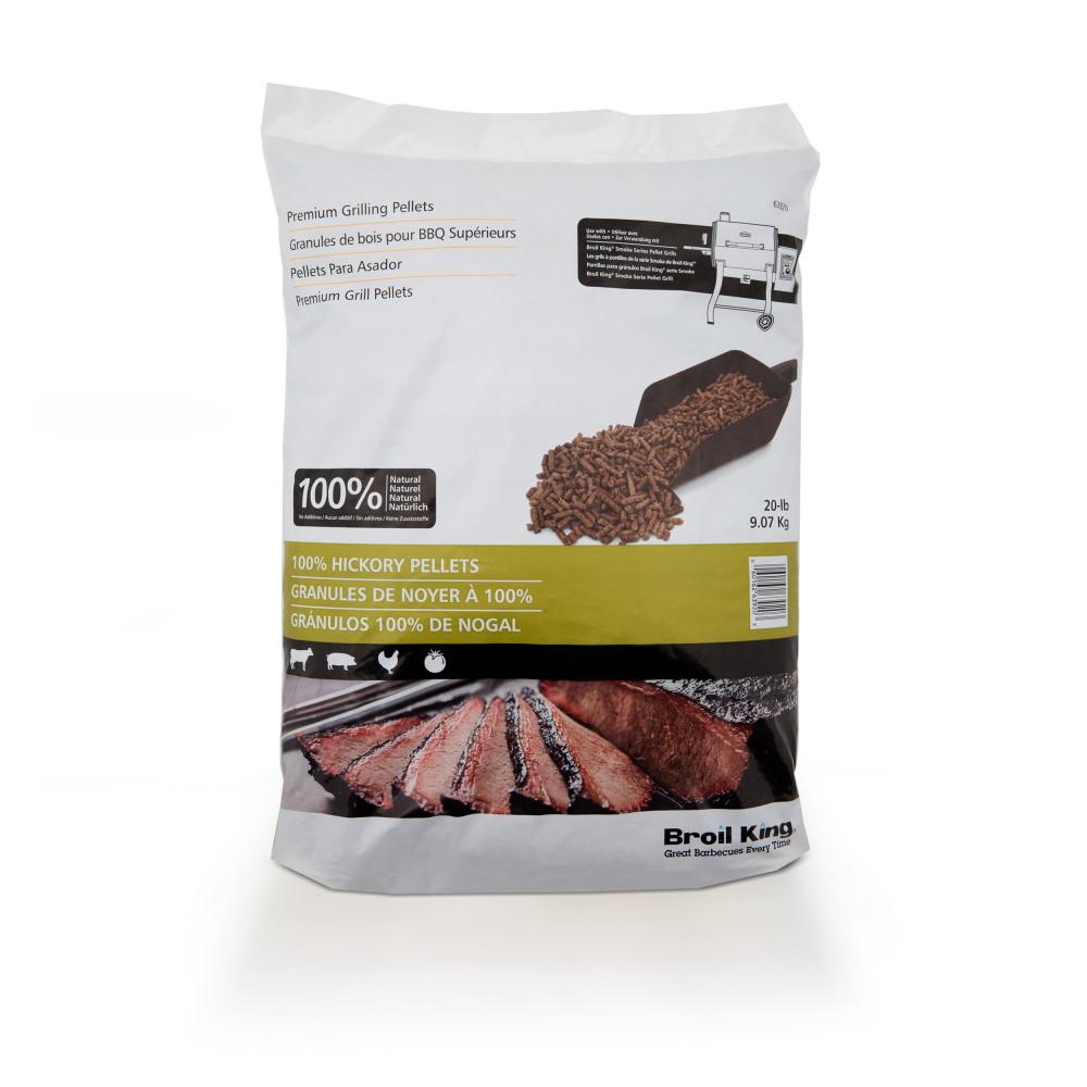 broil king Omc bbq ny Pellets Hickory 9 kg