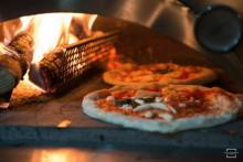 Vedavdelare till pizzaugnar