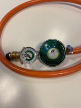 Regulator 30 mbar med gasolmätare