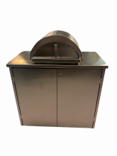 Forno Allegro by Edil Planet Pizzabänk med hjul och skåp