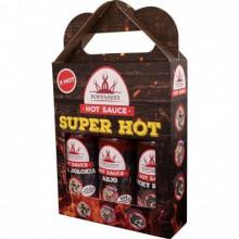 Poppamies Superhot Giftpack (Naga Jolokia, Ahjo och Smoky Reaper)