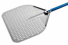 Gi Metal Pizzaspade perforerad 33*33 cm, 150 cm skaft