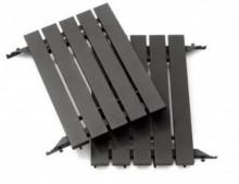 Aluminium side shelves for Classic