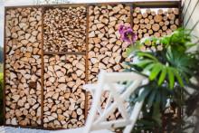 WoodStock VedförvaringsVägg XL