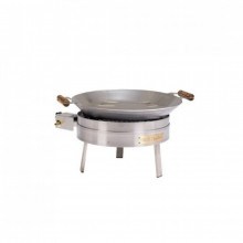 PRO-450i Wok i rostfritt stål Inox