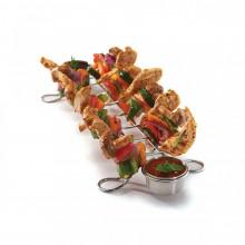 Grillspett serveringsrack