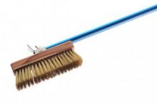 Azzurra Ugnsborste med vridbart huvud och skrapa 150 cm