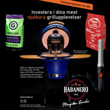 Habanero Kamado-kampanj