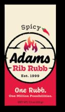Adams Rib Rub Spicy